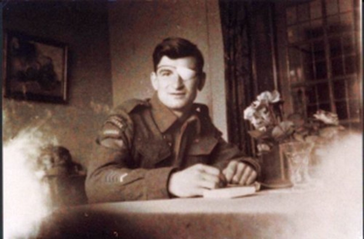 Leo Major on leave in the Netherlands during World War 2