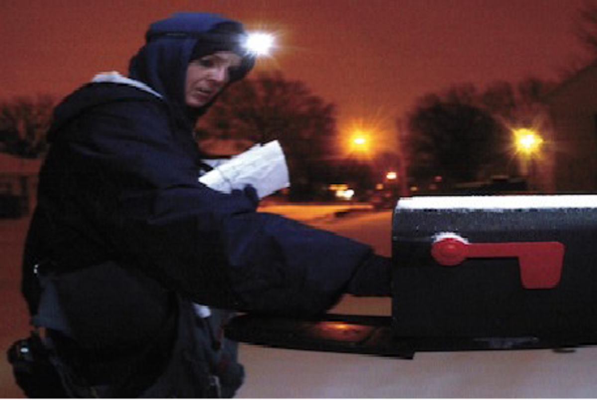 How to Deliver Mail in the Dark - City Carrier Assistant (CCA) Tips and Tricks