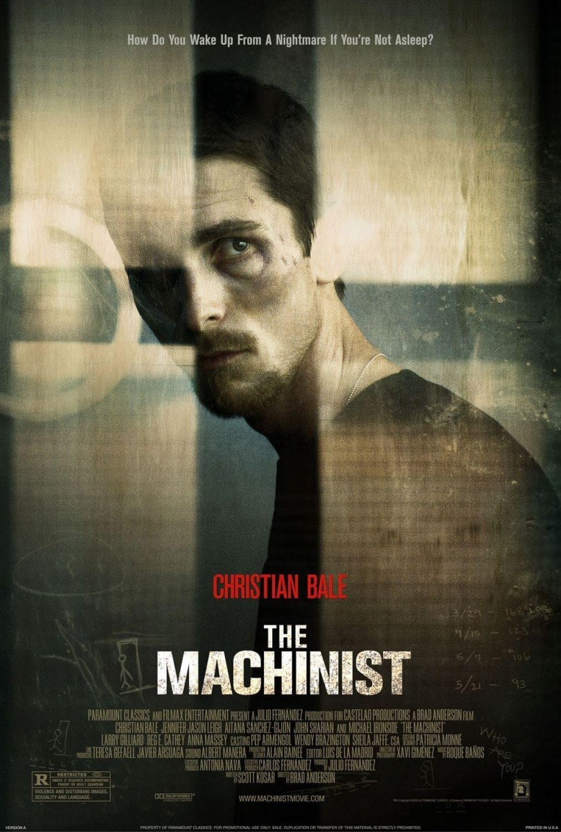 the machinist a psychological portrait of