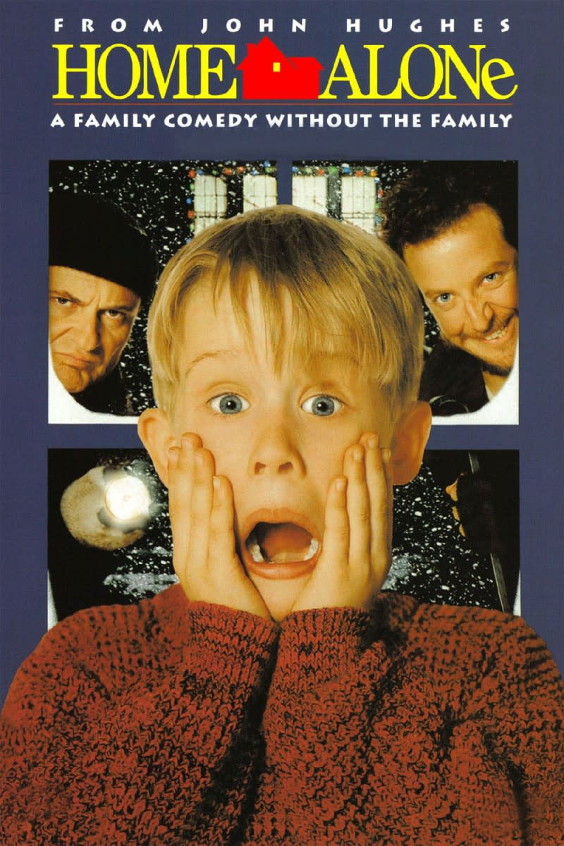 "DVD poster for ""Home Alone"""