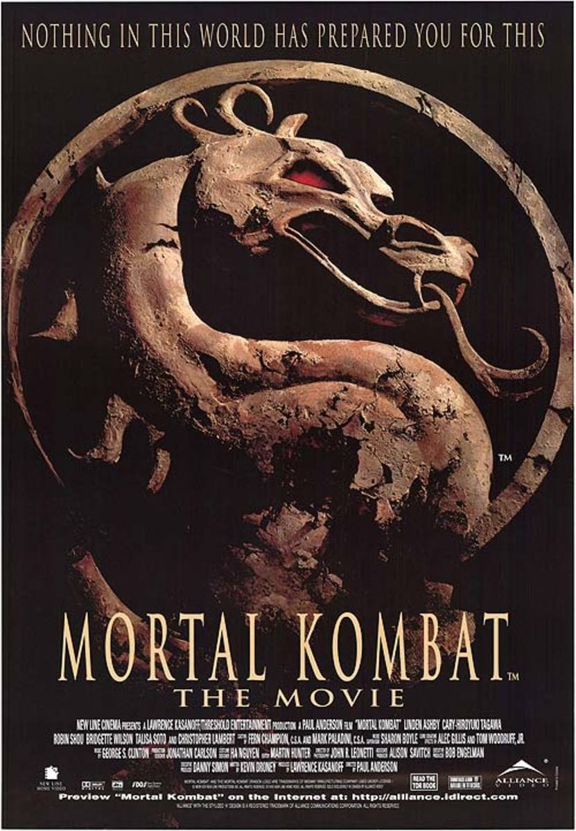 "Poster for ""Mortal Kombat"""