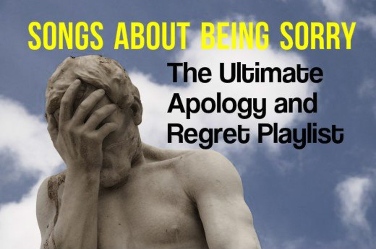 52 Songs About Regrets, Apologies, and Feeling Sorry