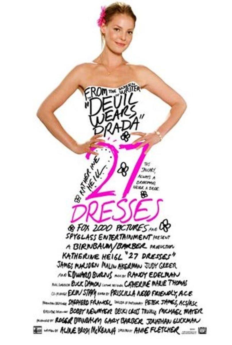 "Poster for ""27 Dresses"""