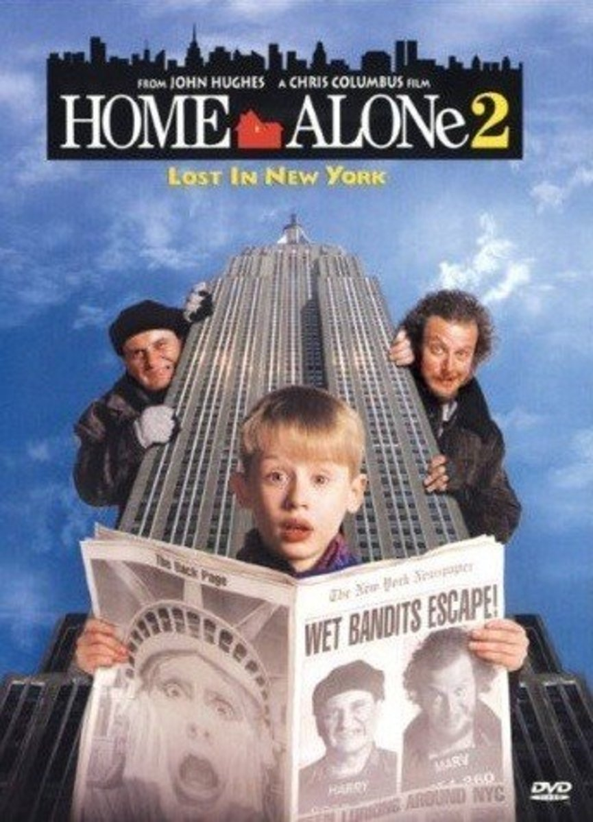 "DVD cover for ""Home Alone 2: Lost In New York"""