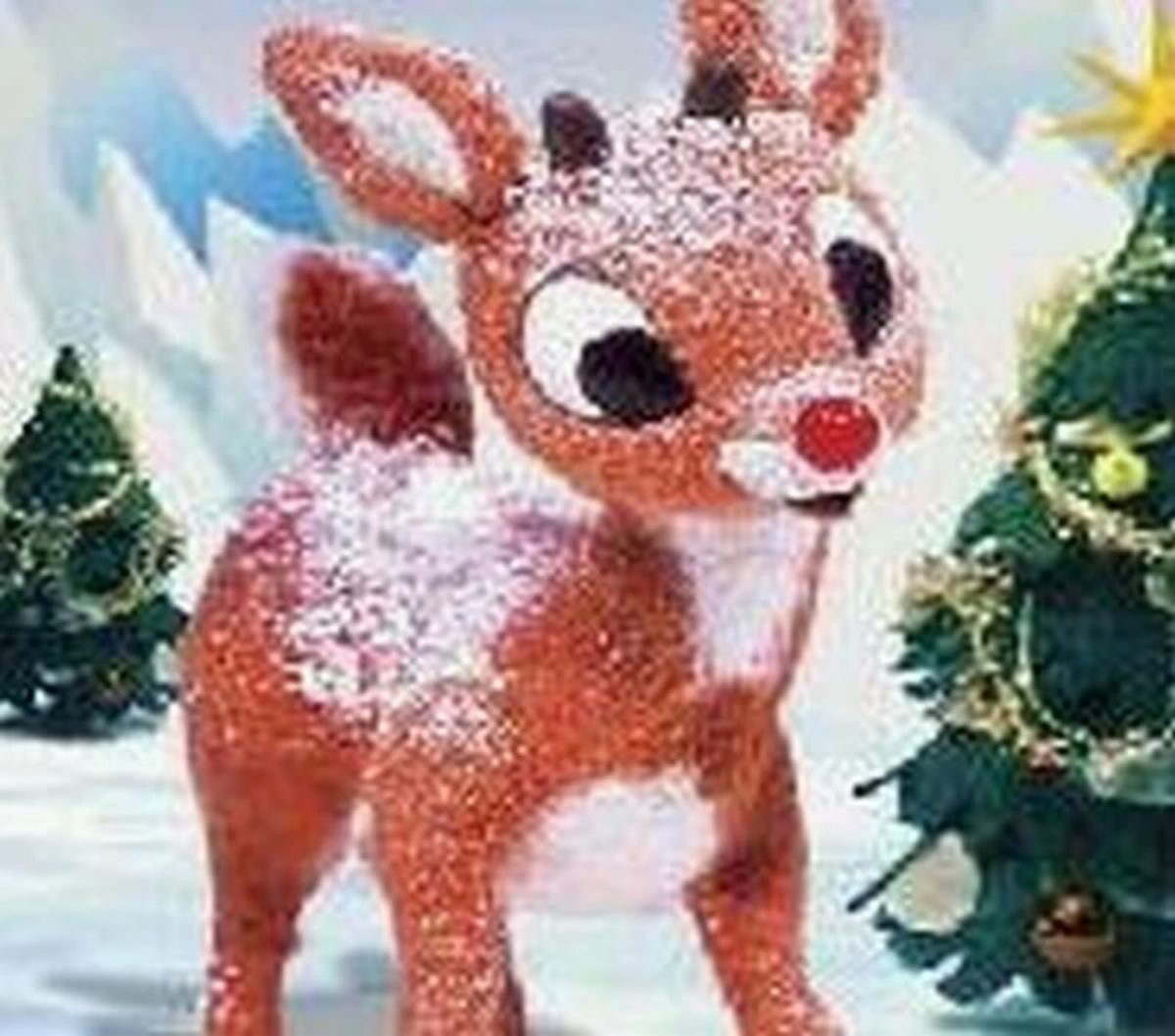 Real rudolph the red nosed reindeer flying - photo#27