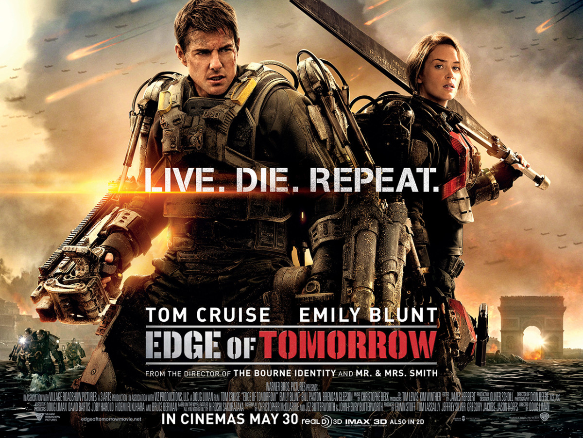"11 Action Movies Like ""Edge of Tomorrow"""