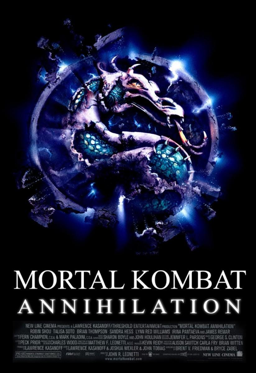 "Poster for ""Mortal Kombat: Annihilation"""