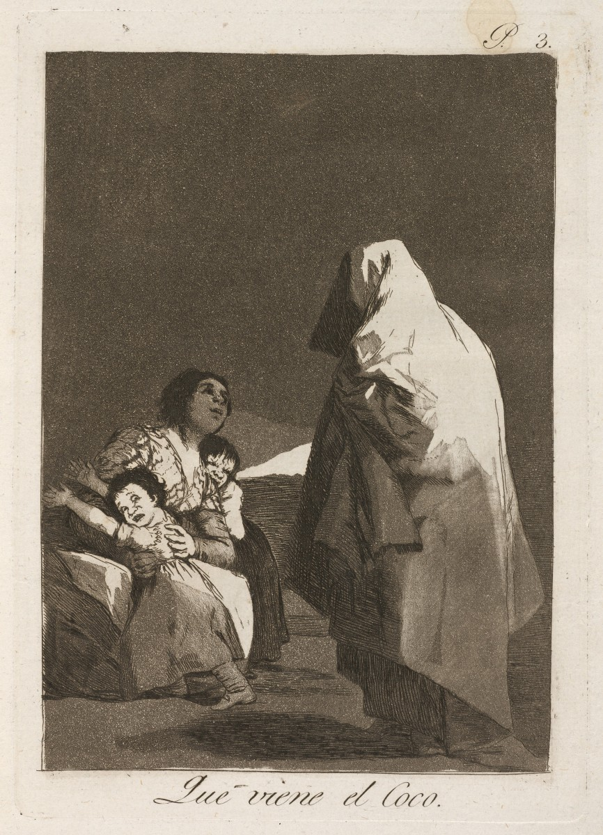 Goya's 'Here Comes the Bogeyman'