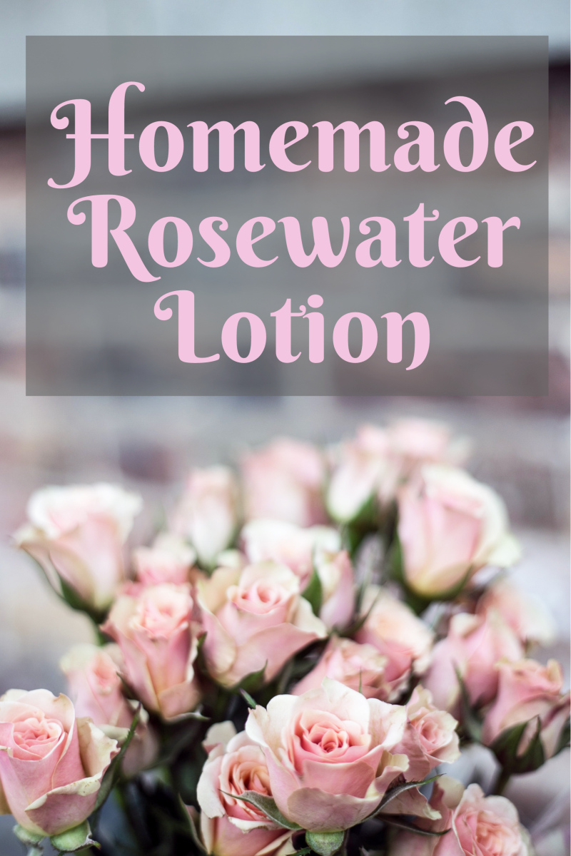 The Ultimate Rosewater Lotion Recipe