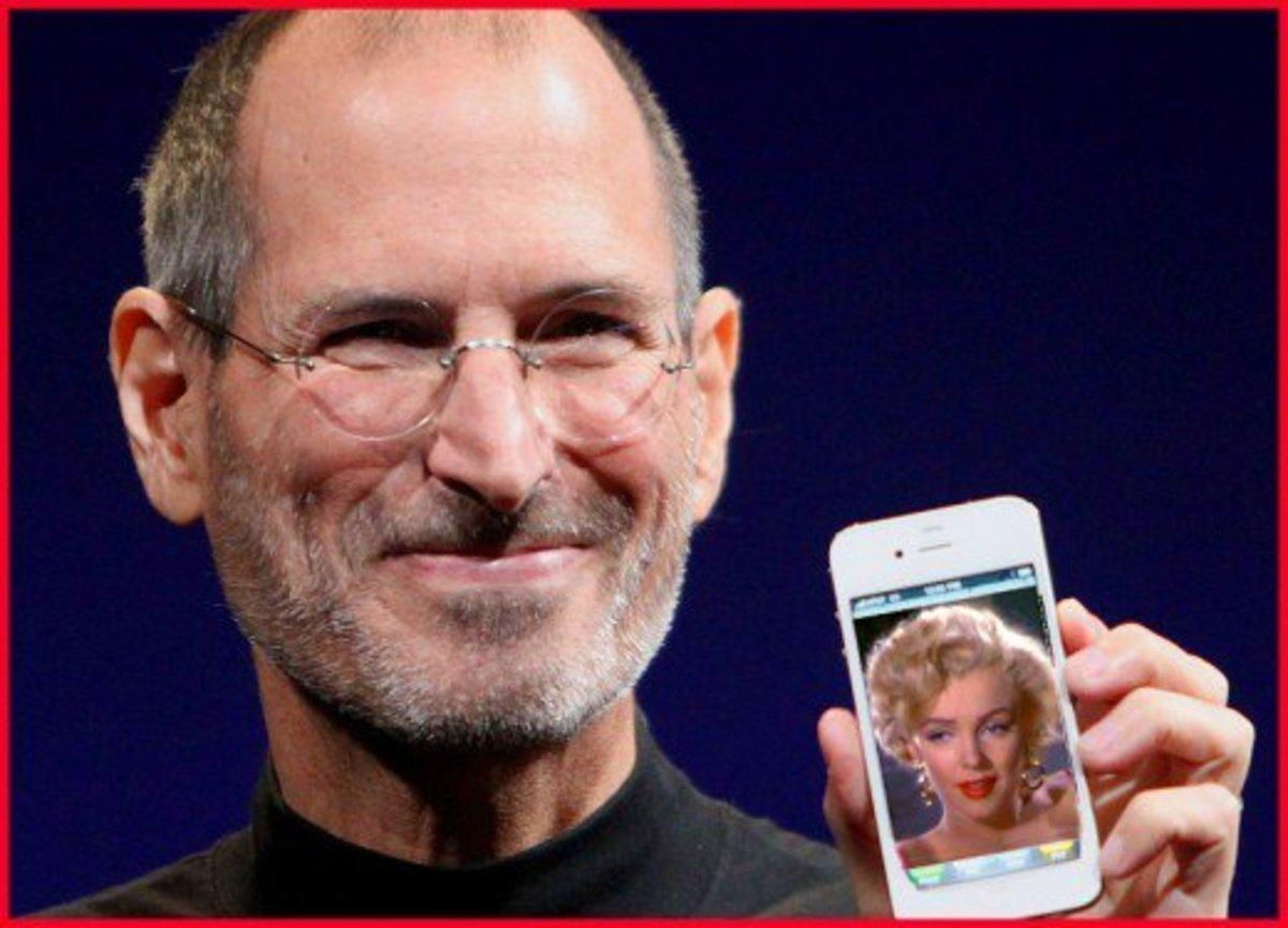 Apple guru Steve Jobs and Hollywood sex symbol Marilyn Monroe were both famous orphans.