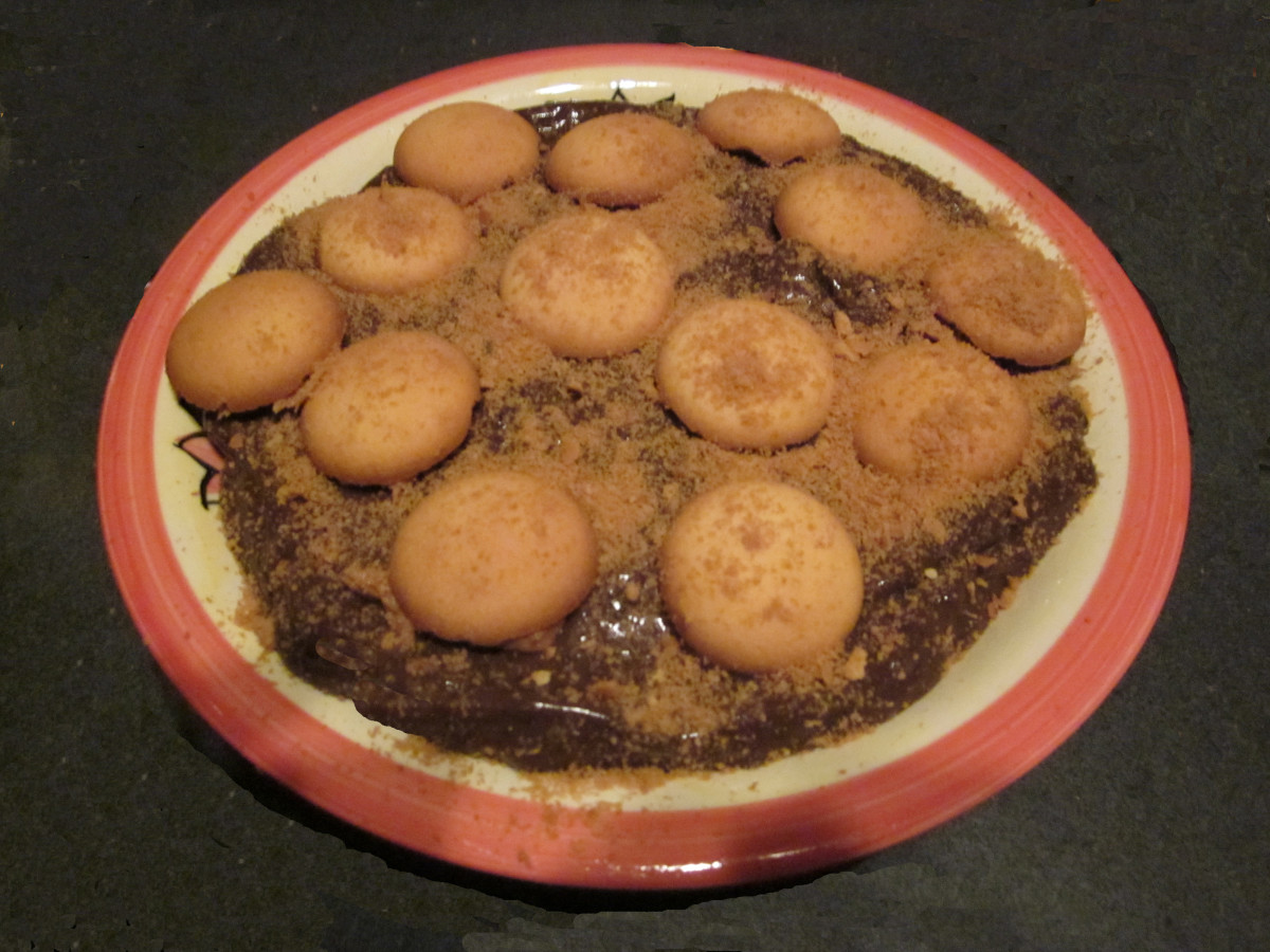 Easy 5th Avenue Pudding: Chocolate, Peanut Butter, and Banana