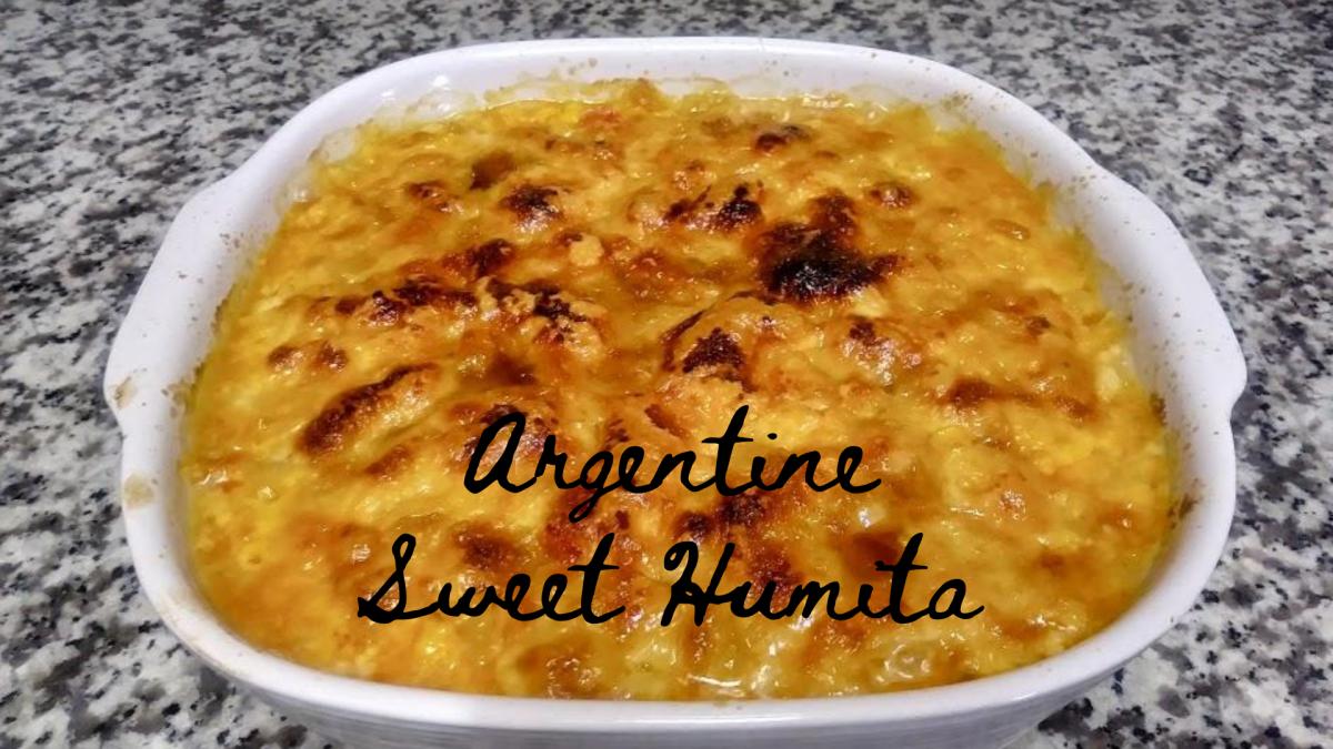 Argentine Sweet Humita Recipe: A Vegetarian Dish