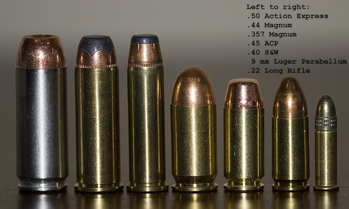 Calibers of the Semiautomatic Handgun: The .40 Caliber