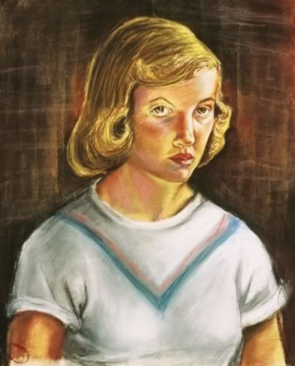 Plath, like Van Gogh, indulged in many self-portraits.  What kind of egomaniac does that take?