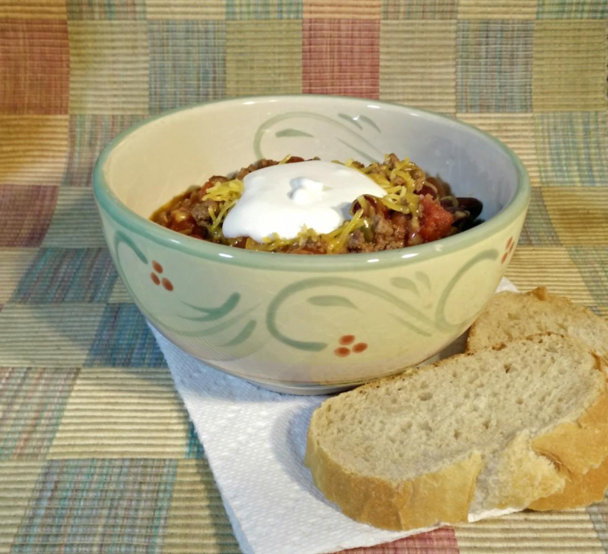 Easy Crock-Pot Chili