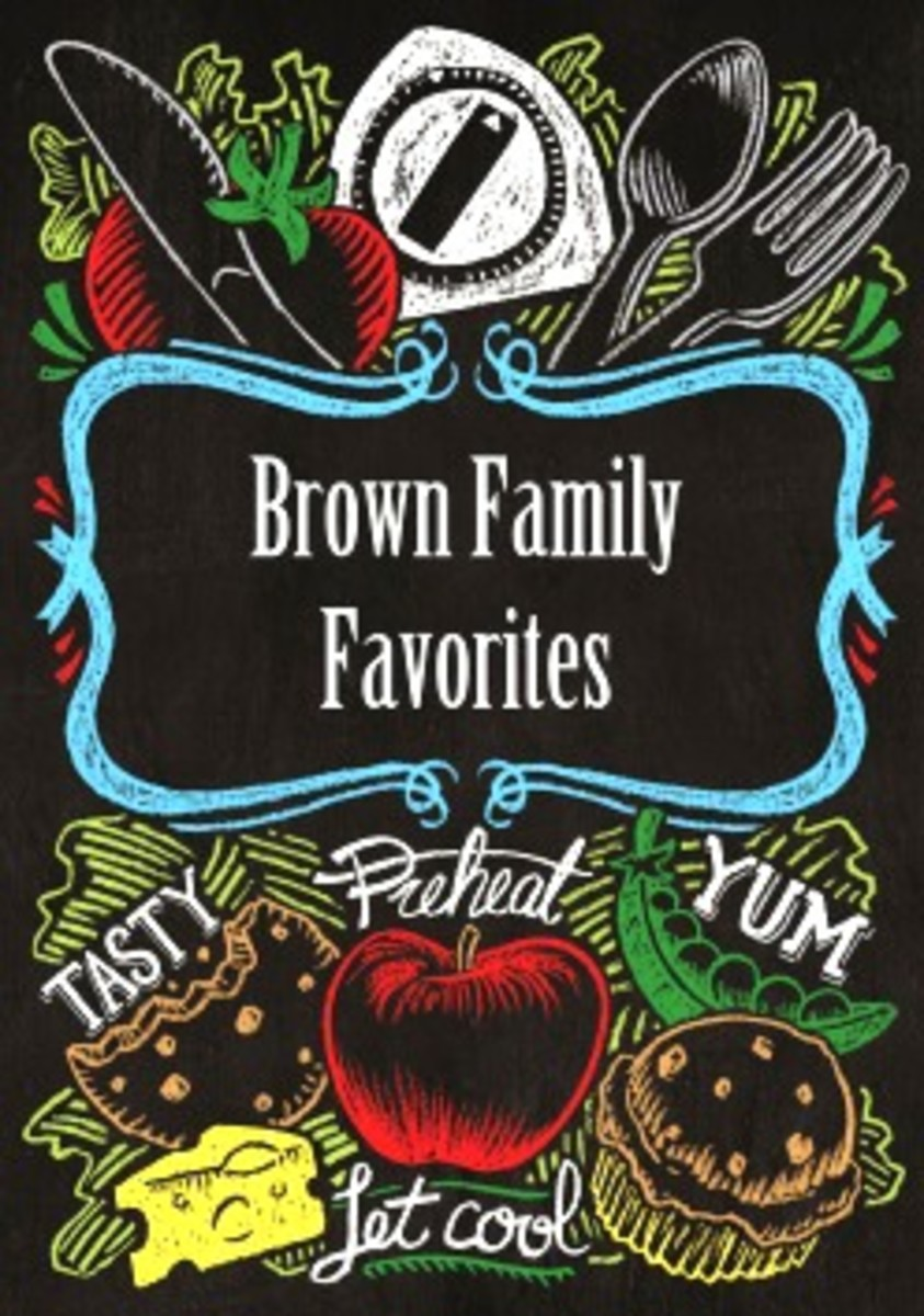 A Cookbook Collection of Family Favorite Recipes from the Brown family of WaKeeney, Kansas