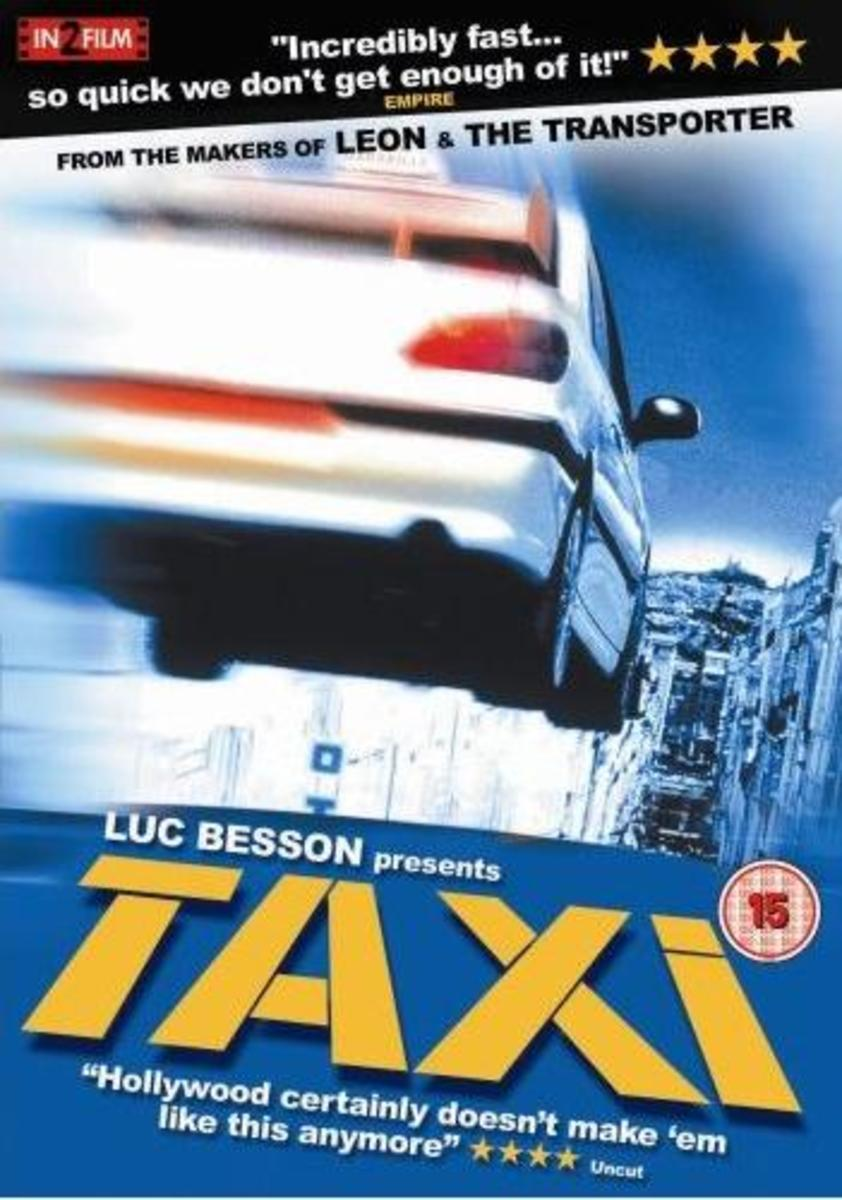 "DVD cover for ""Taxi"" (1998)"