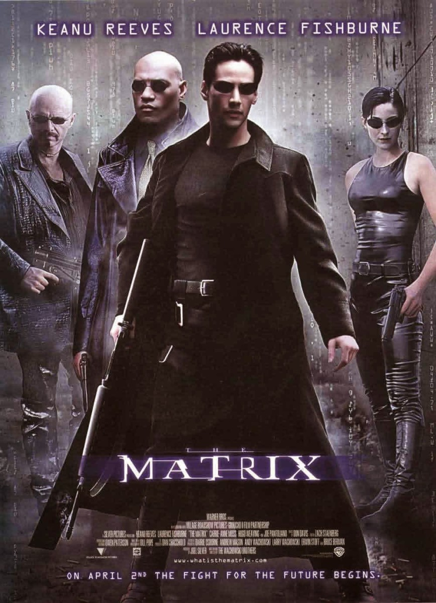 "Poster for ""The Matrix"""