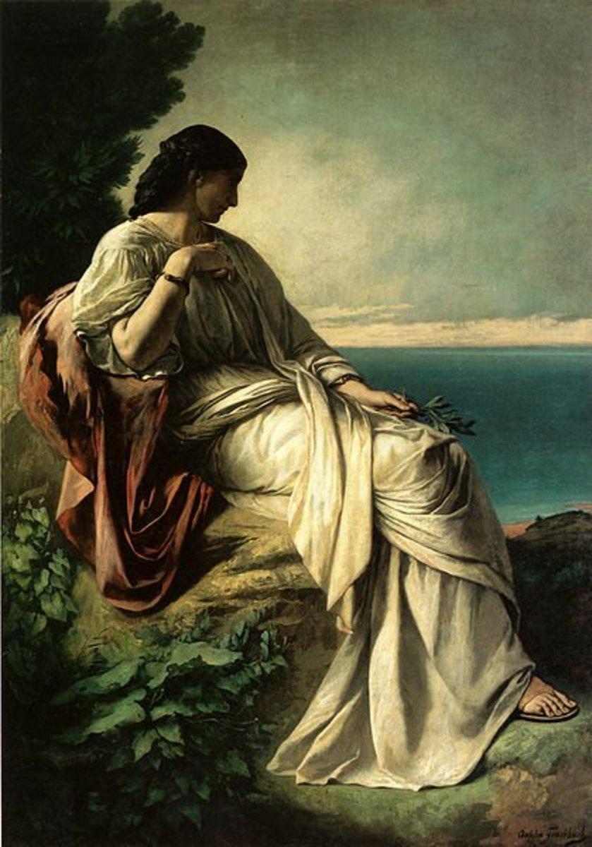 Iphigenia - Anselm Feuerbach (1829–1880) - PD-art-100