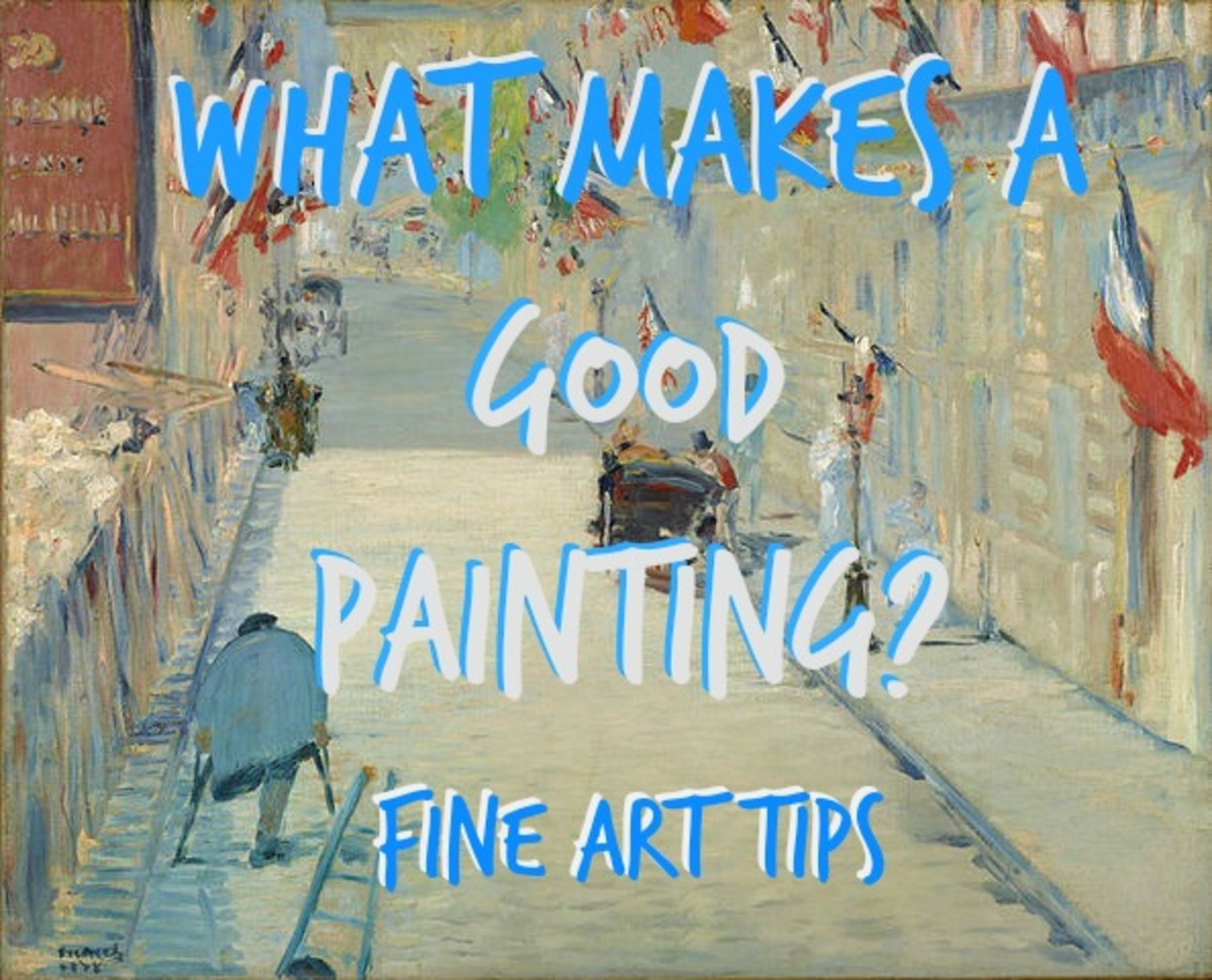 Tips for Beginners: What Makes A Good Painting?