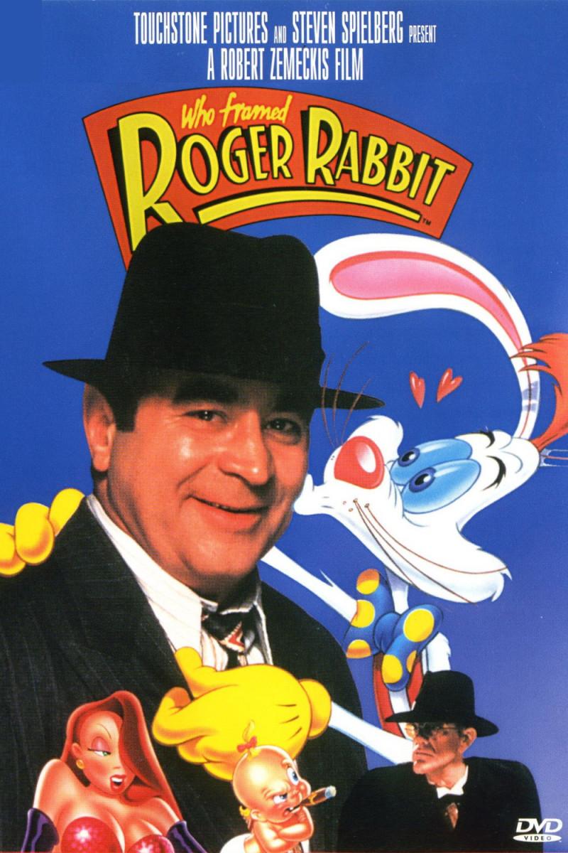 """DVD cover for """"Who Framed Roger Rabbit"""""""