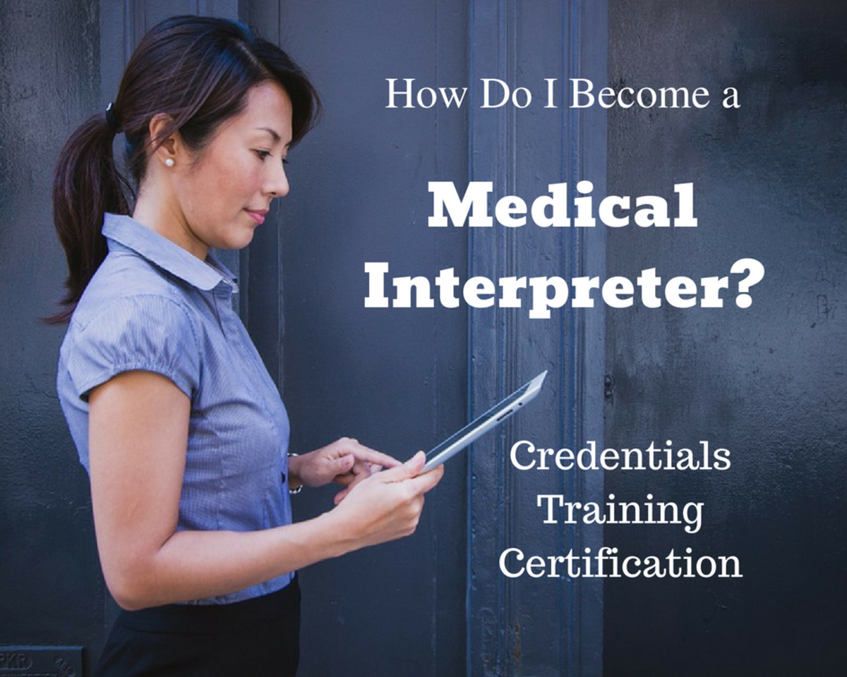 The medical interpreter profession is growing rapidly.