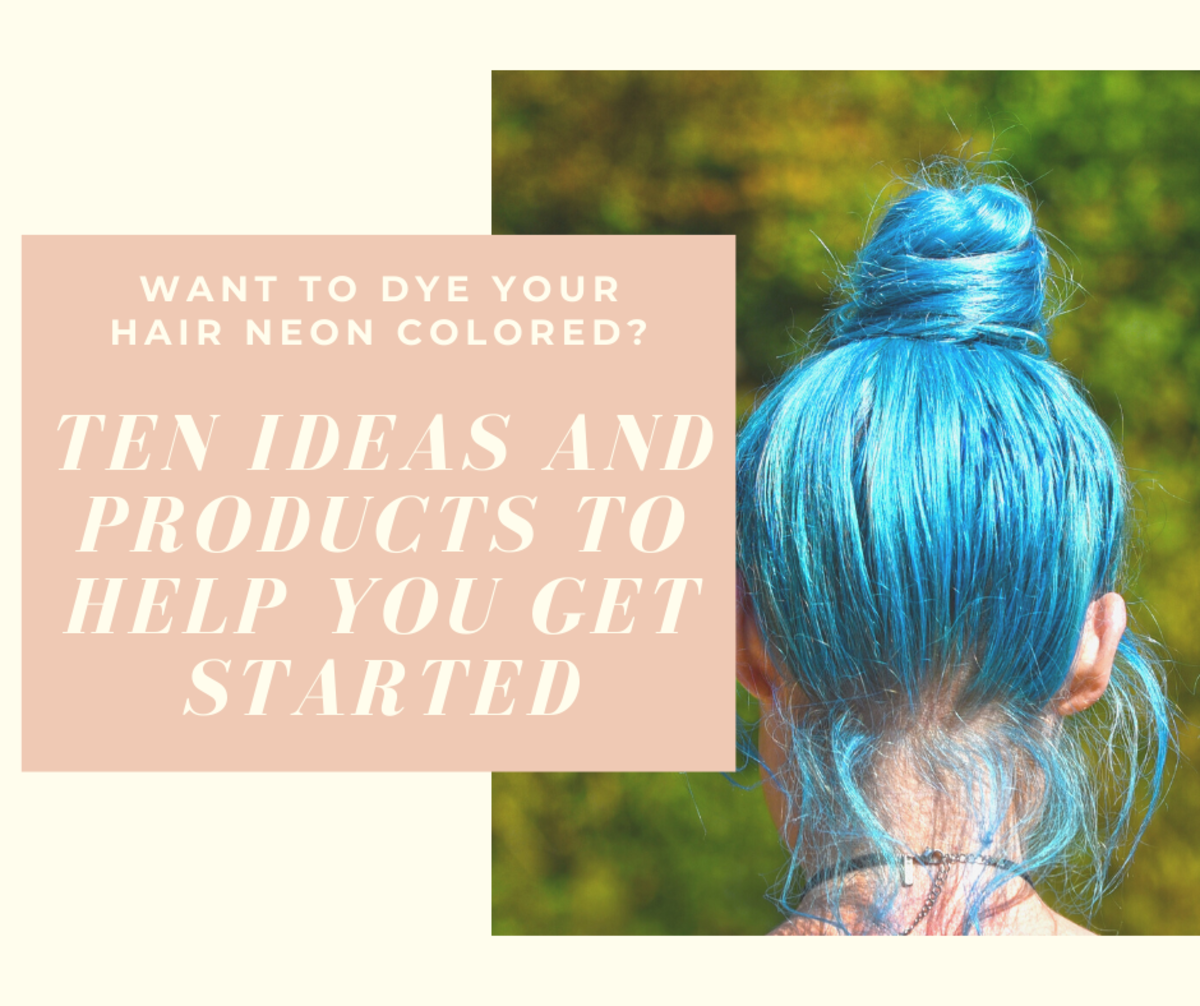 Rave hair! Looking to dye your hair bright, vivid, amplified colors? You can get it with these dyes from Pravana, Manic Panic, and Joico.
