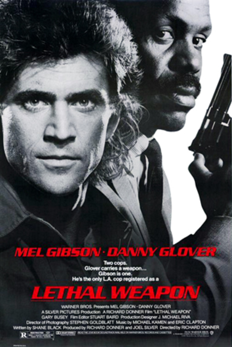 "Poster for ""Lethal Weapon"""