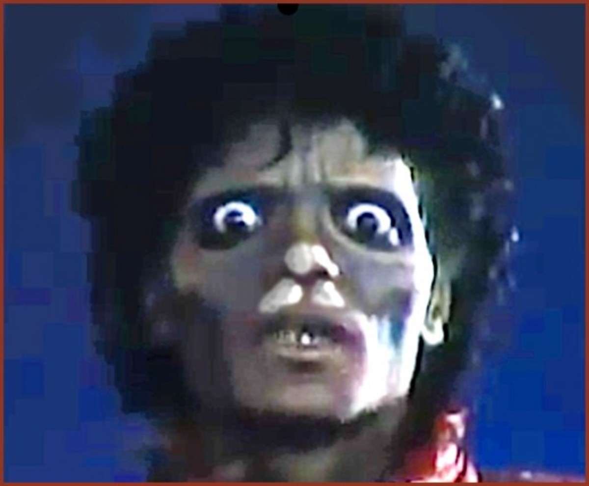 "Many of our top entertainers over the years have died from both legal and illegal drugs.  Here are eight celebrities who died from opioid and prescription drug overdoses. Michael Jackson, seen here in his ""Thriller"" music video is one of them."