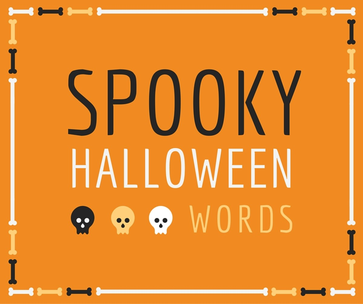 Halloween is a great holiday for games. Why not play some fun and educational word games between mouthfuls of candy?