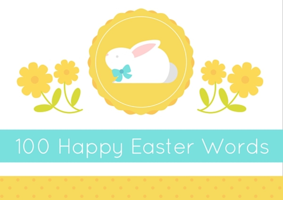 100 Happy Easter Words