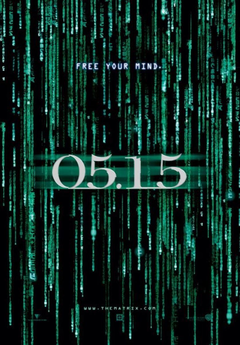 "Promotional poster for ""The Matrix Reloaded"""