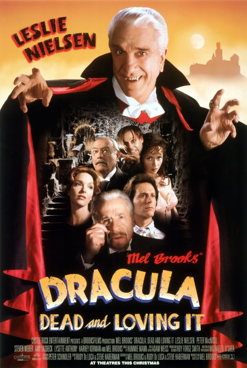 "Poster for ""Dracula: Dead And Loving It"""