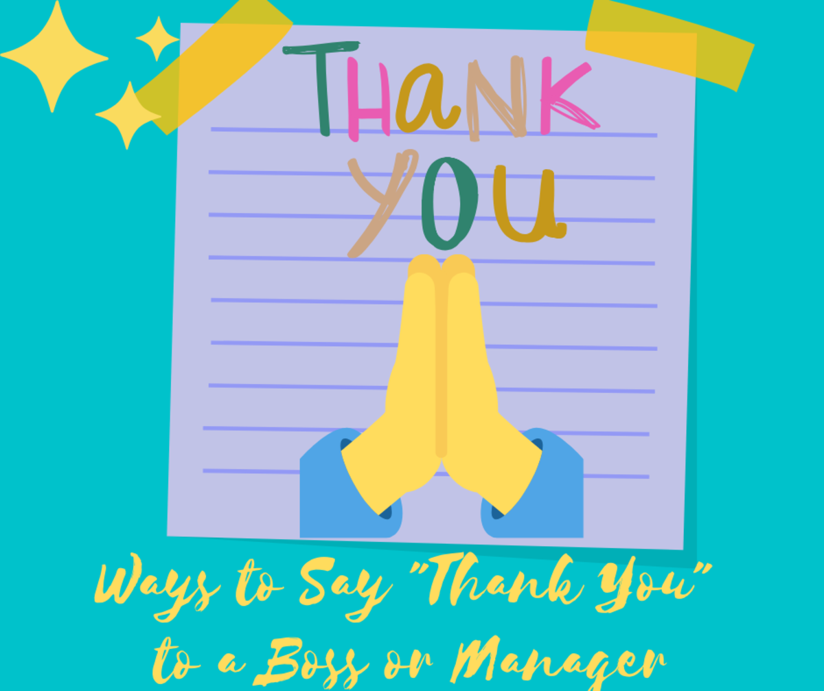 Thank-You Notes and Appreciation Messages for a Boss