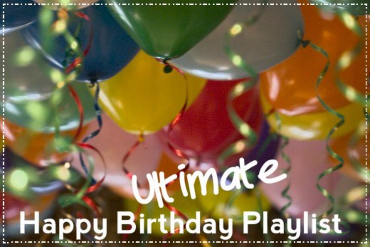 What's a birthday without a playlist of birthday songs?  We've got a long list of pop, rock, and country songs to help you celebrate another year of awesomeness.