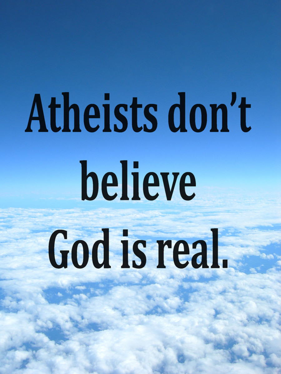 Atheists Don't Think God Is Real