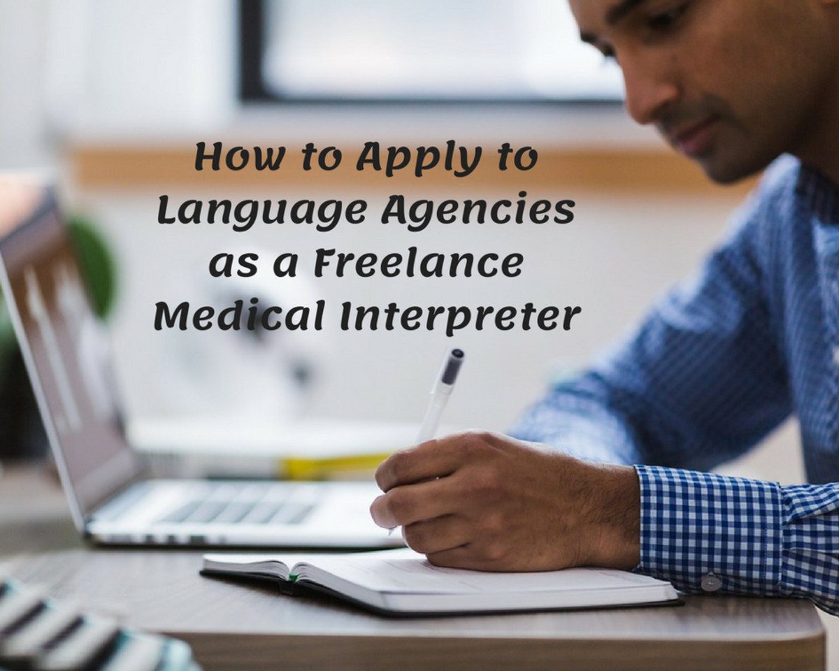 Be selective about the language agencies you apply to.