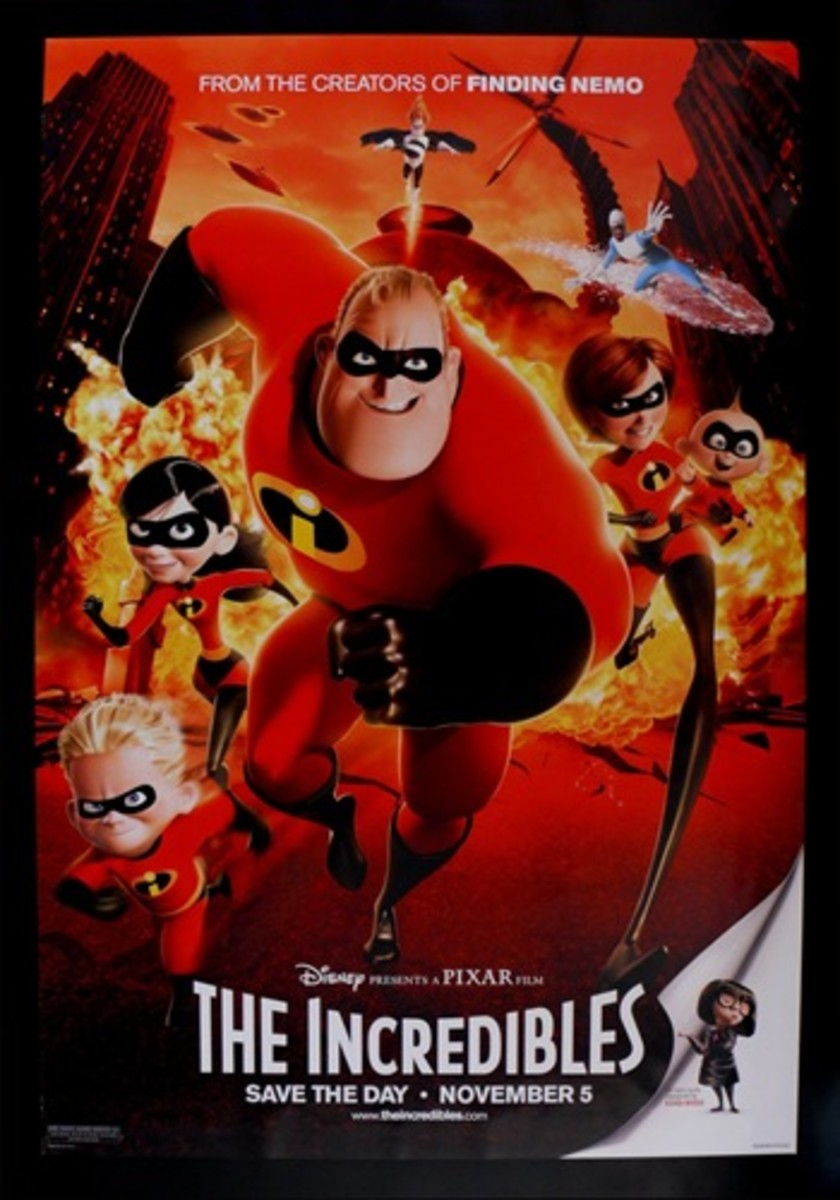 "Promotional poster for ""The Incredibles"""