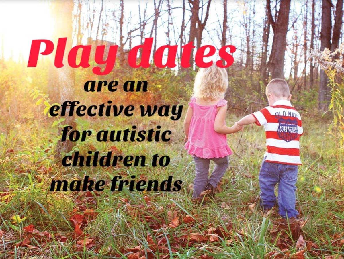 Many children with autism find it difficult to make friends in a large group setting such as school. One-on-one play dates let kids with similar interests develop meaningful bonds.