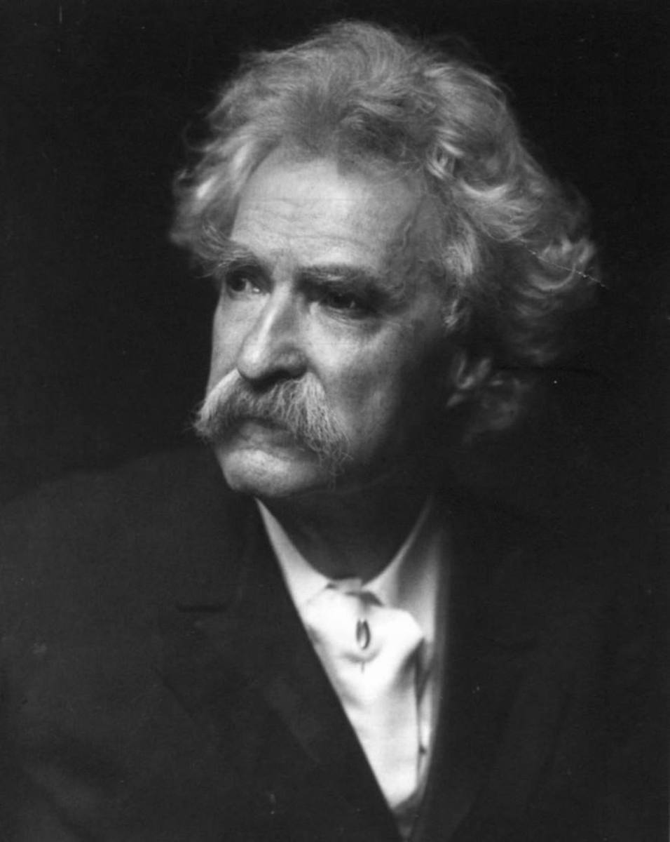 Mark Twain in his later years