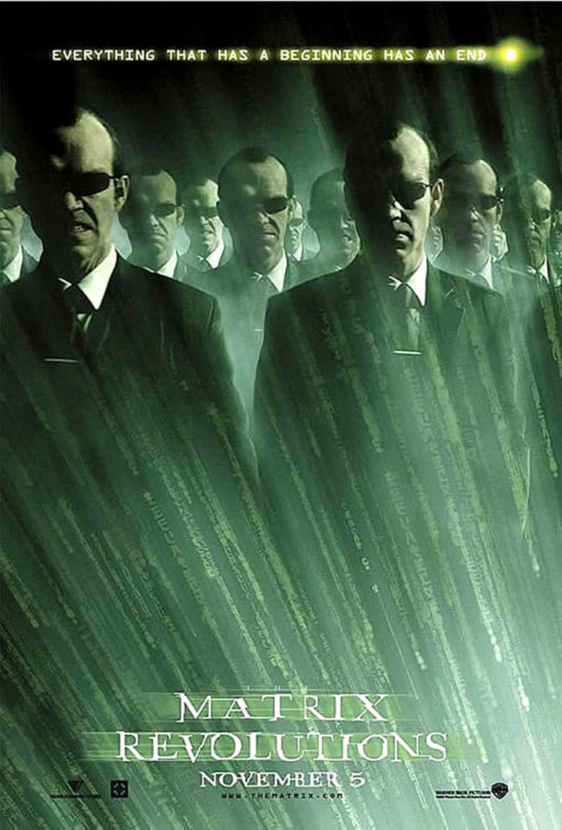 "Promotional poster for ""The Matrix Revolutions"""