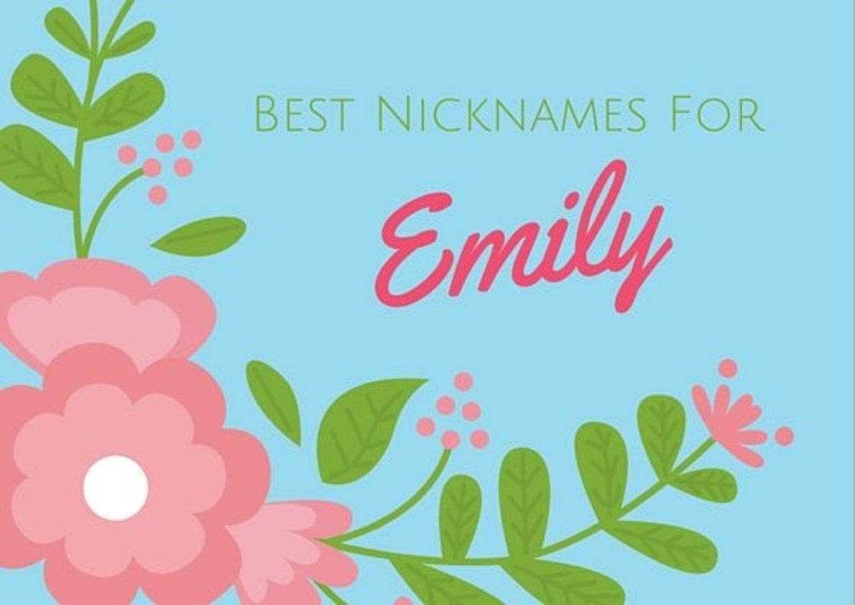 Best Nicknames For Emily Wehavekids