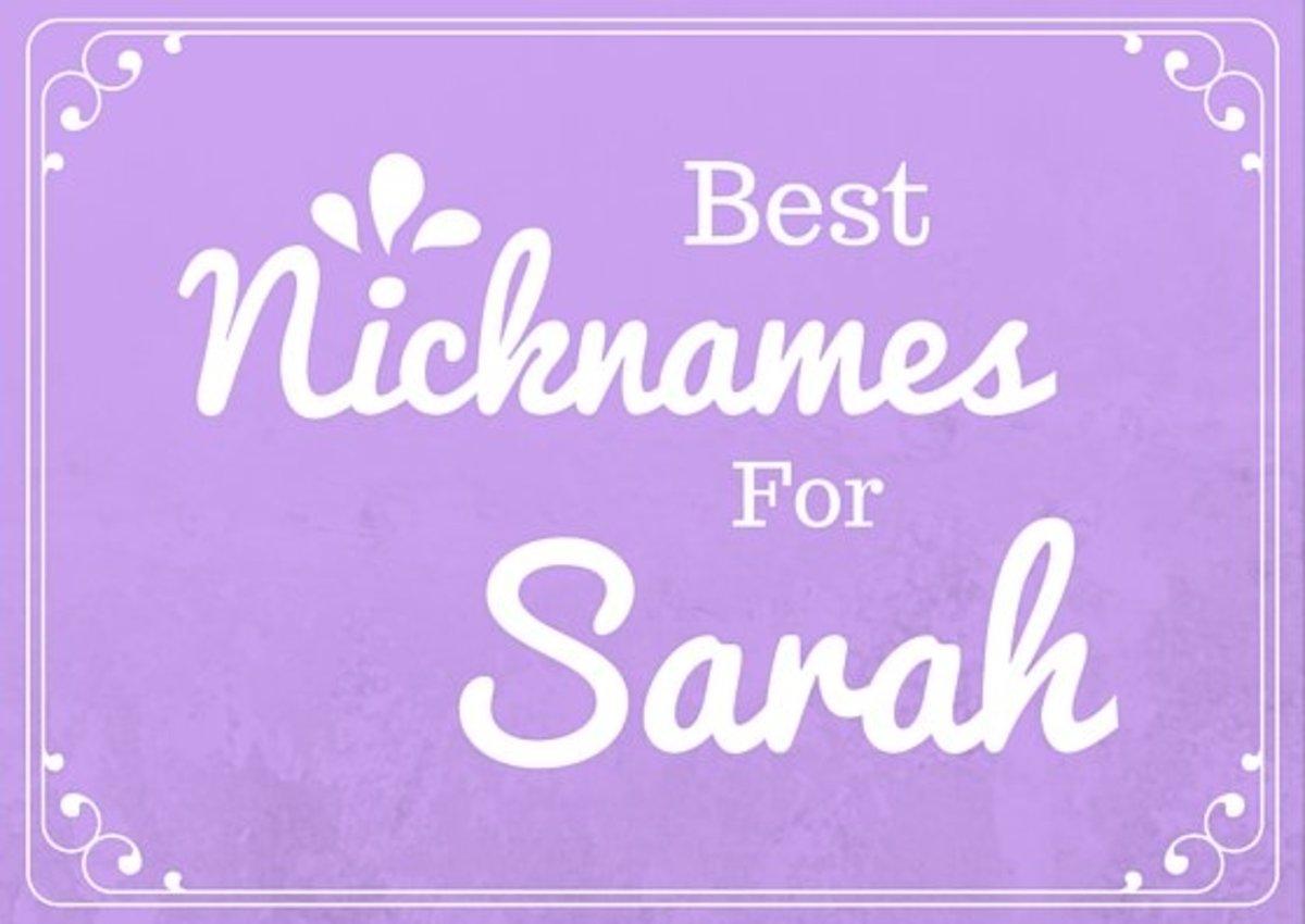 best-nicknames-for-sarah