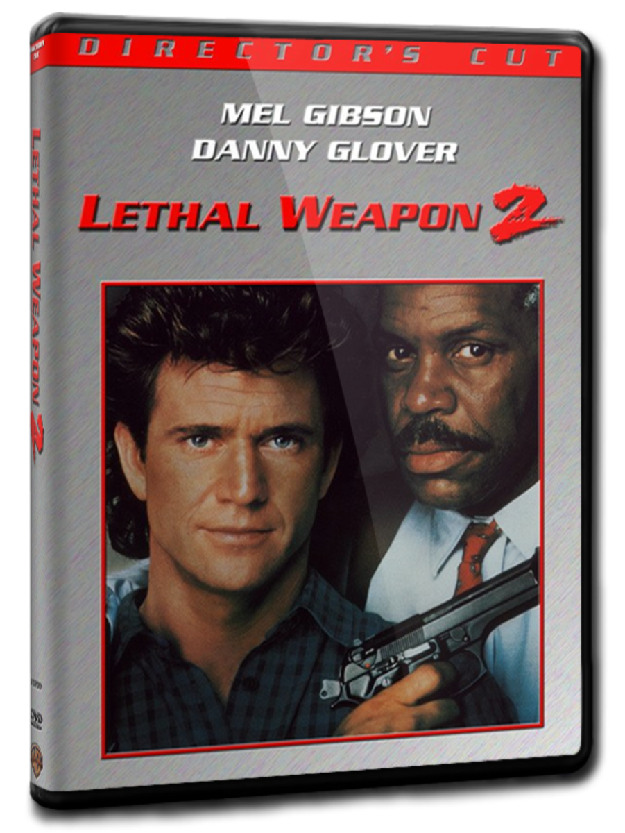 "DVD cover for ""Lethal Weapon 2"""