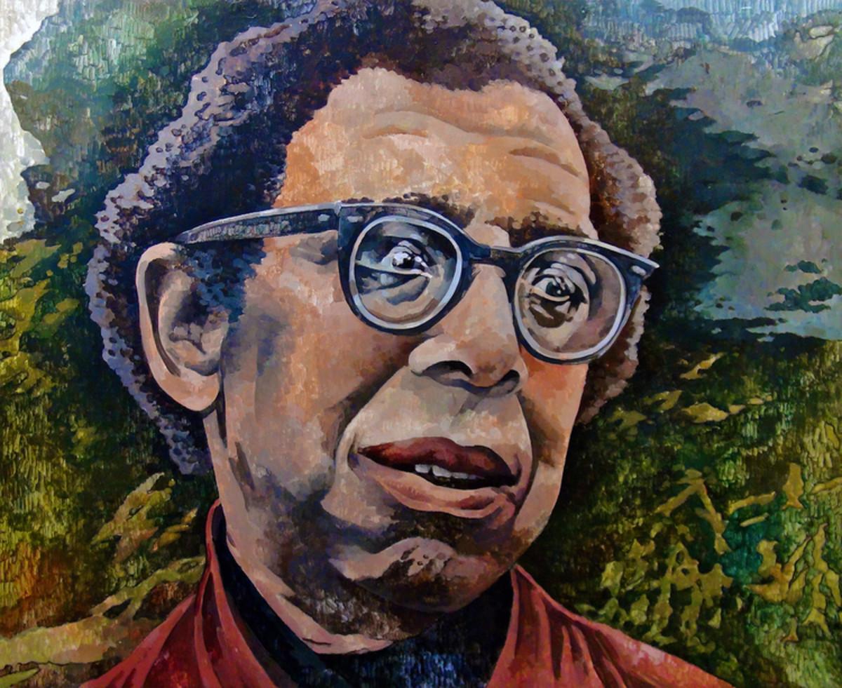 Portrait of Robert Hayden