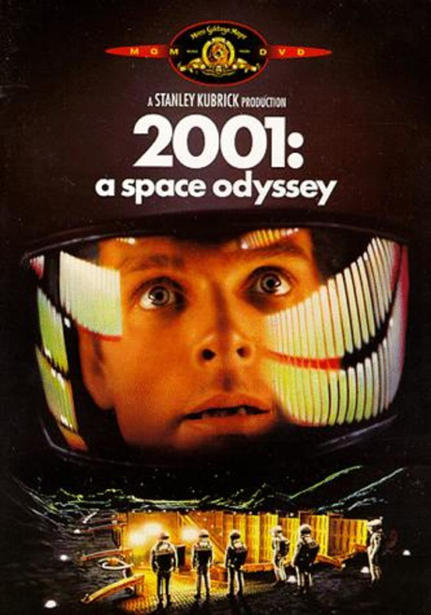 "DVD cover for ""2001: A Space Odyssey"""