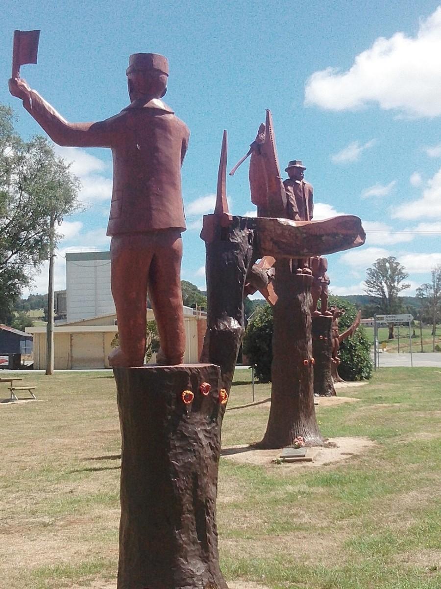 Legerwood's Memorial Trees: Tasmania's WW1 Heritage
