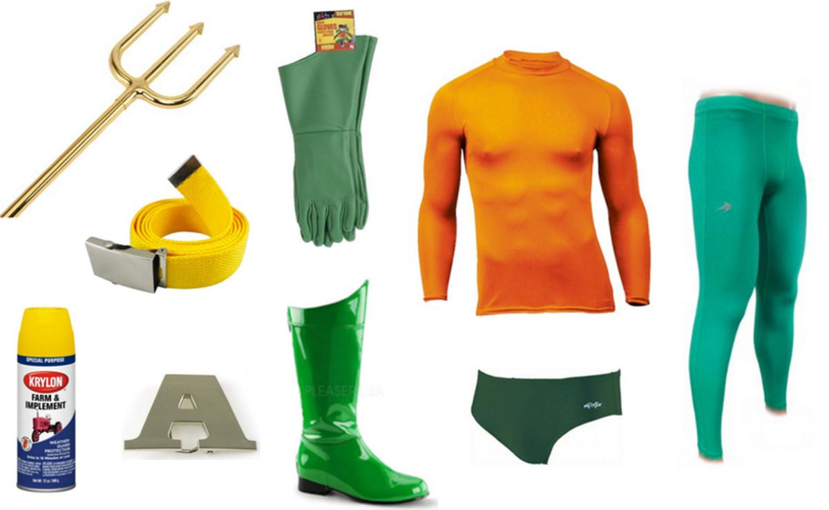 How to make an aquaman halloween costume holidappy solutioingenieria Choice Image