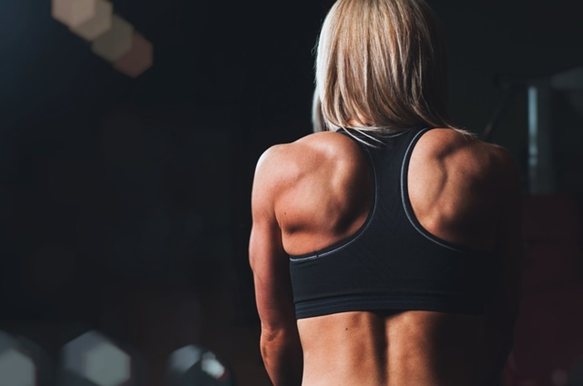 Get in shape! Try this upper body workout routine for women.
