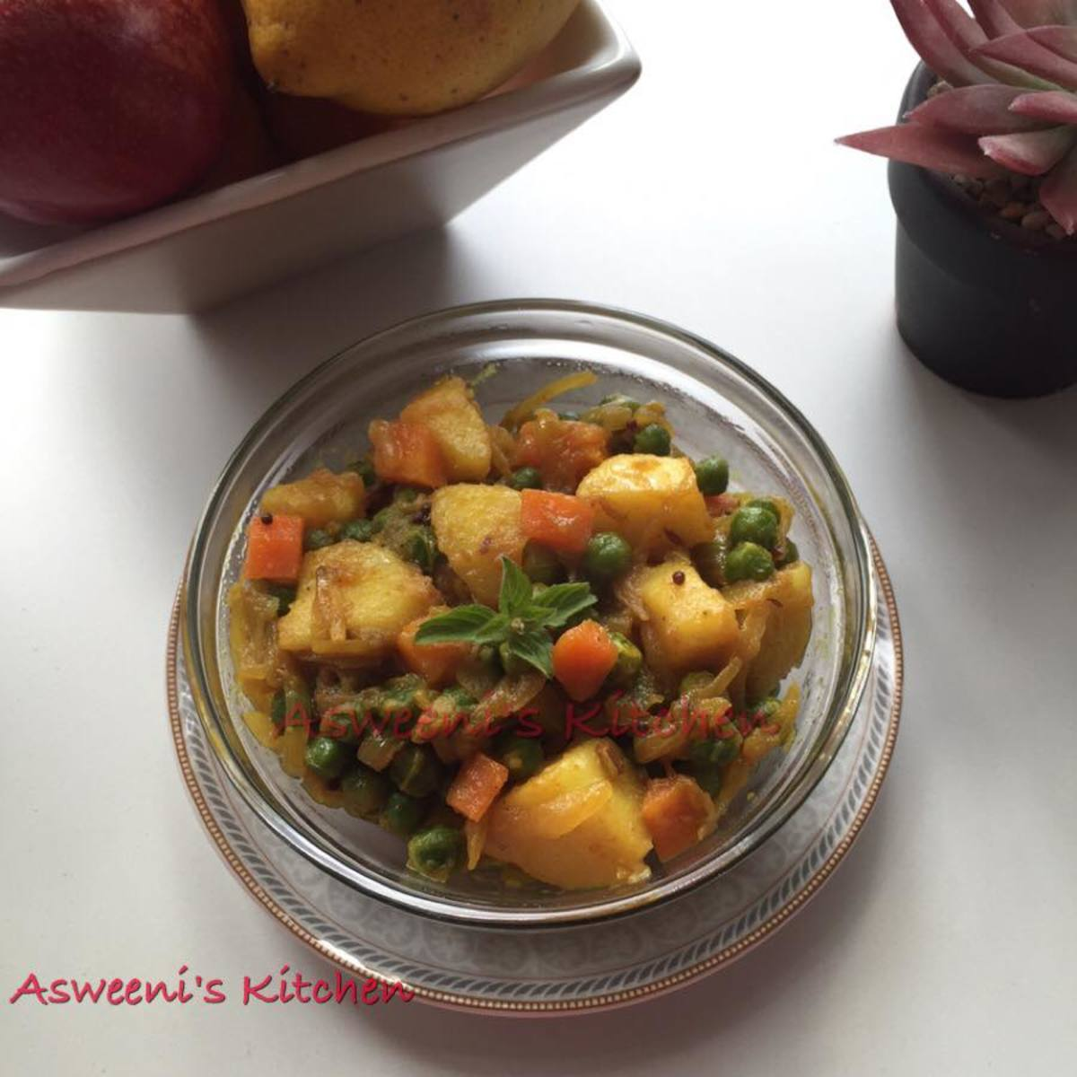 Potato, Pea, and Carrot Curry